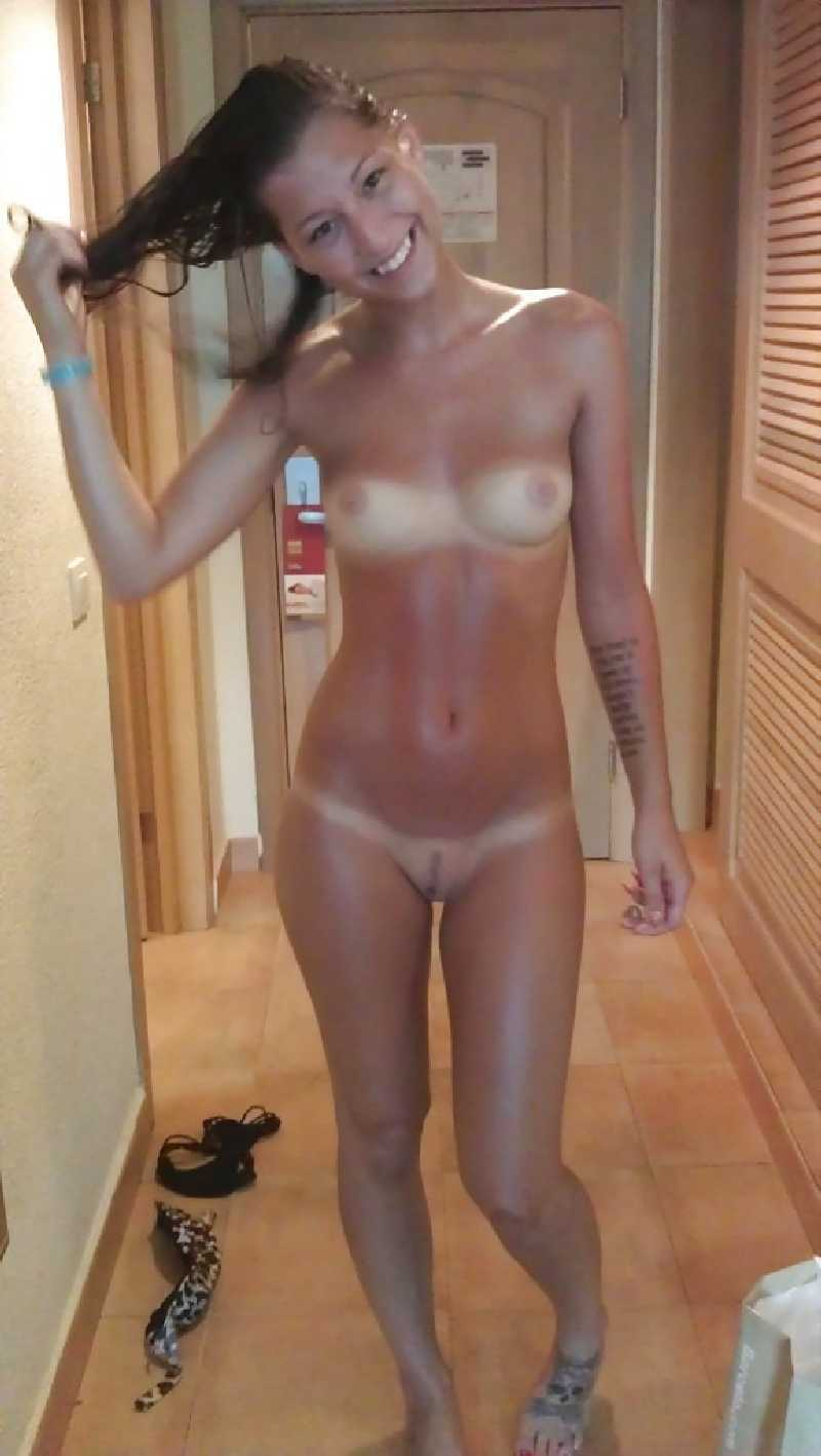 Girl alone College naked