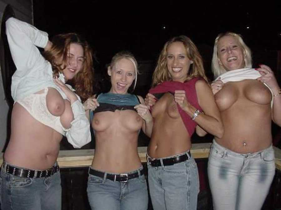 amature group flashing Truth or Dare Pics