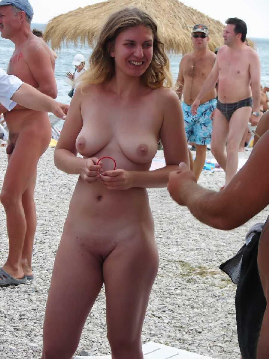 Girlfriend At A Beach