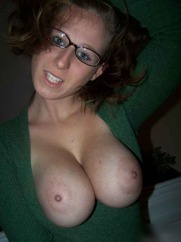 Amature normal looking natural tits