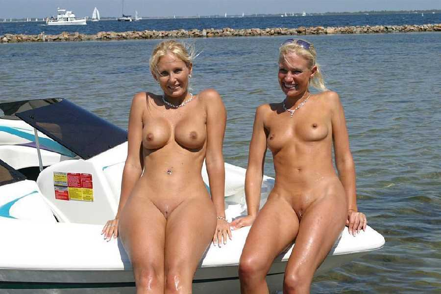 Nude Girls On A Boat