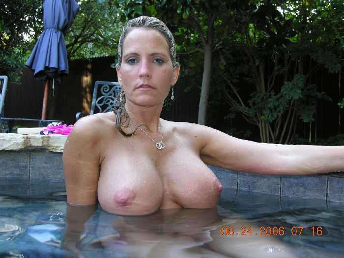 Aunt naked swimming