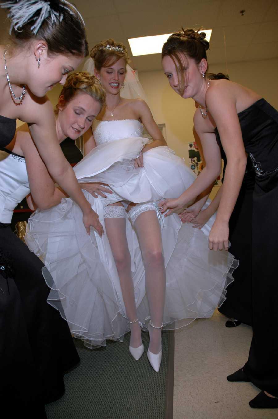 Невесты засветы секси