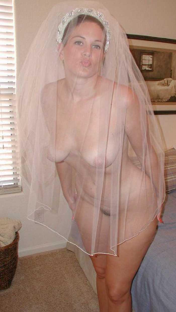 Nude women wedding night