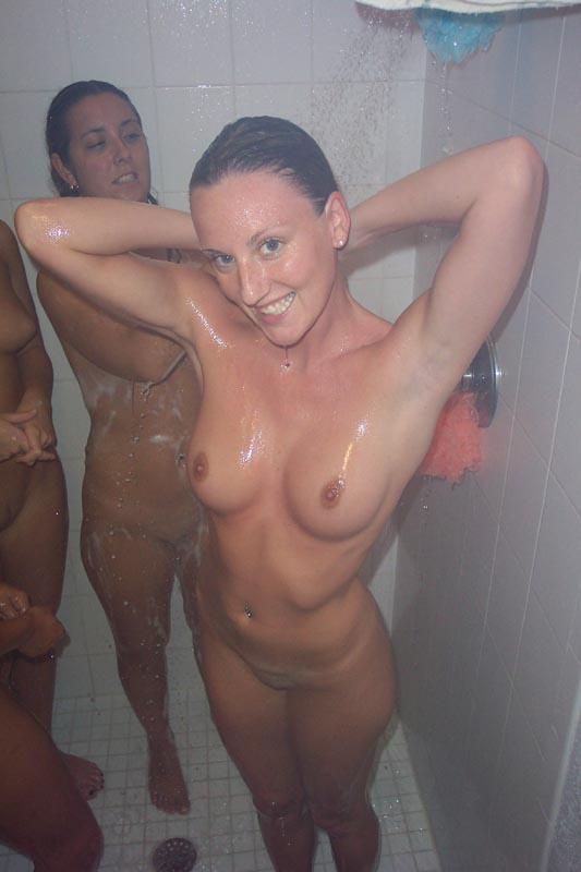 College locker room girls naked