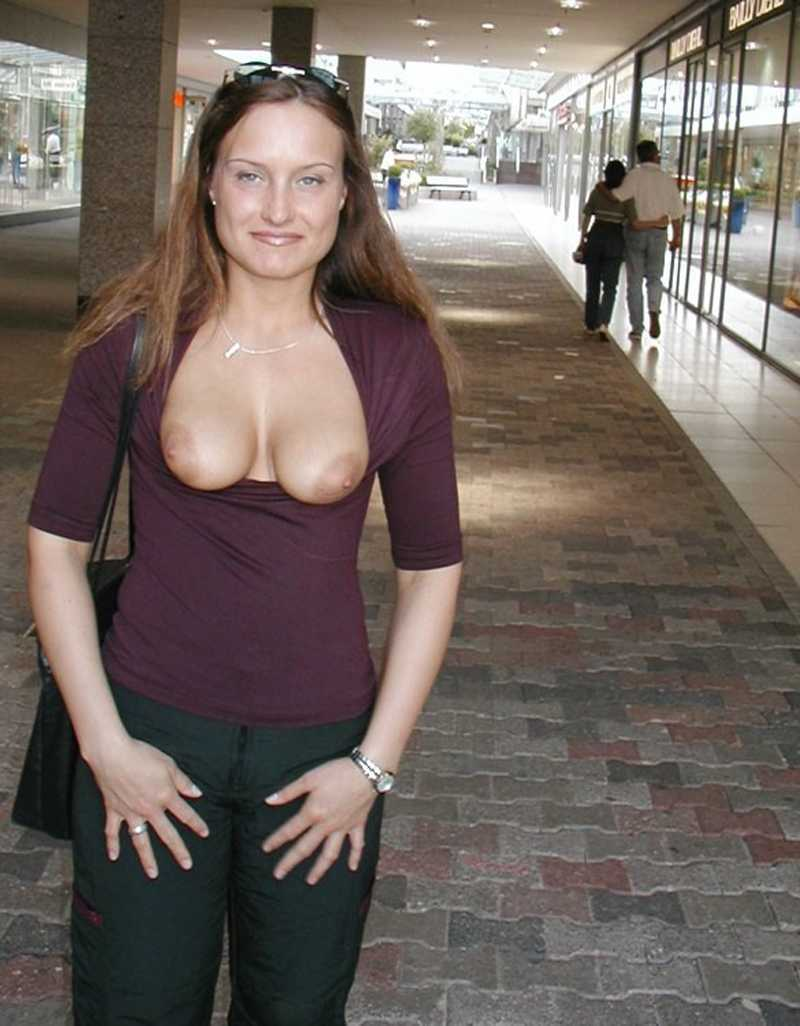 chicks flashing - amateur public nudity dares