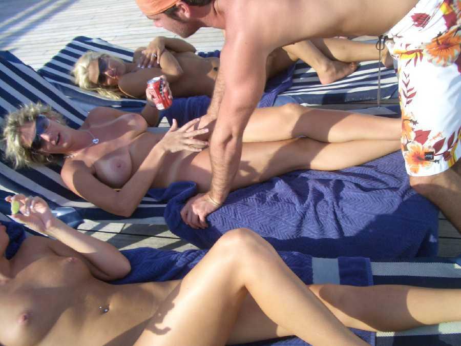 Wife nude on cruise ship videos