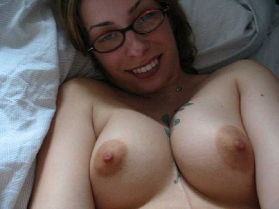 Women with glasses and boobs naked