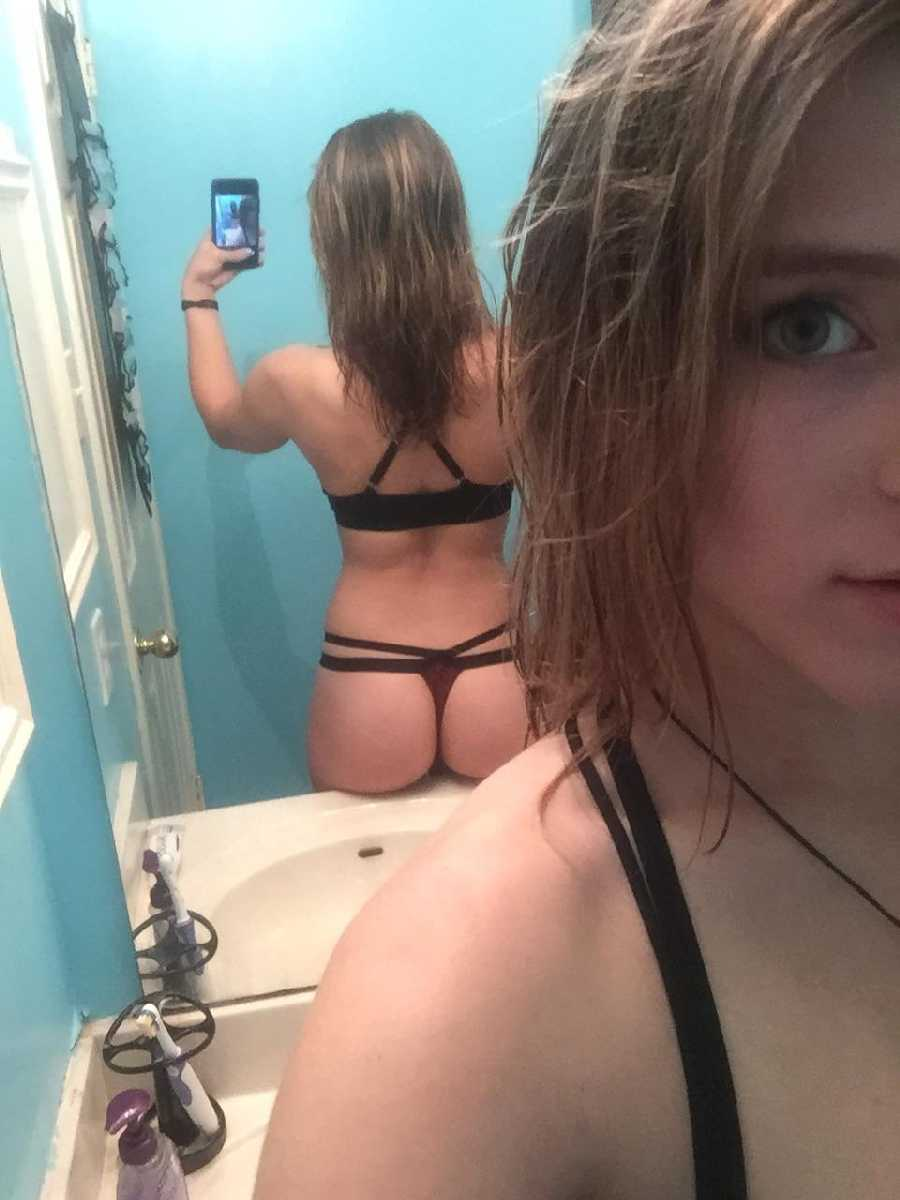 Panties erotic and stunning teen