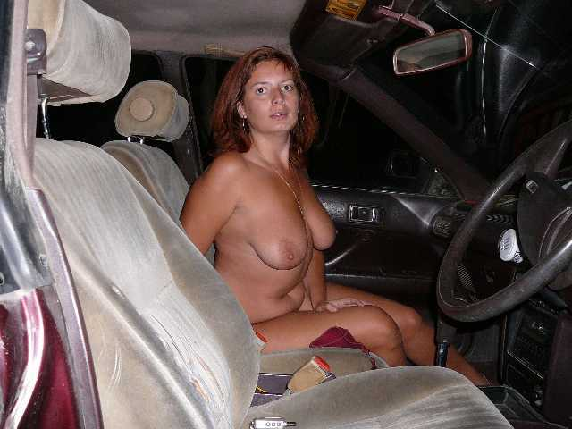 topless car ride