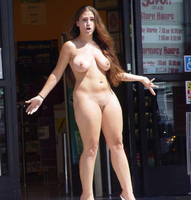 Nude drunk wife dare public