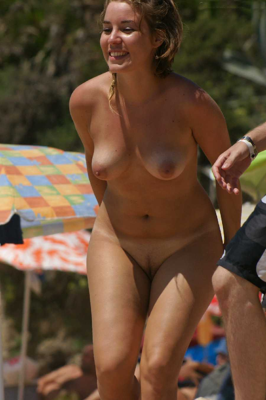 Video of wife nude on beach