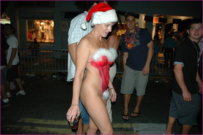 Wife horny get naked for family christmas party