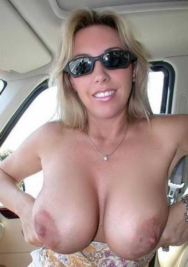 Large topless women