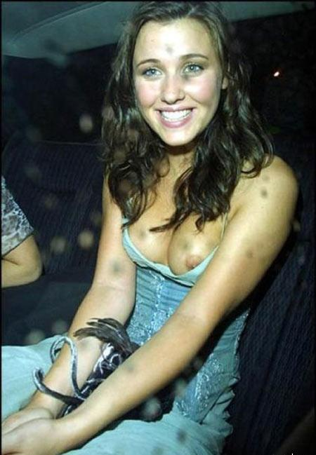 Kelly Wenham Nipple Slip
