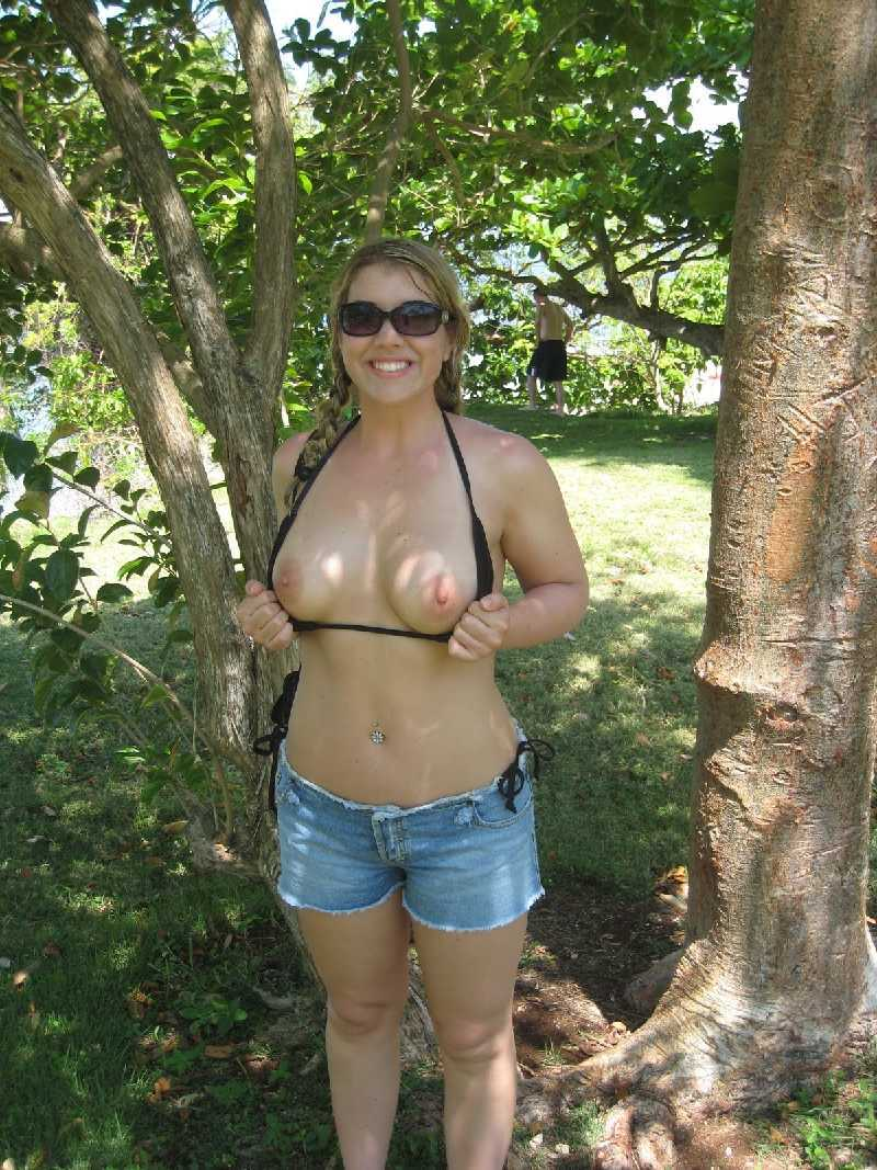 Milf outdoor shower igfap