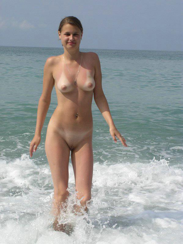 Nude Women with Tanlines
