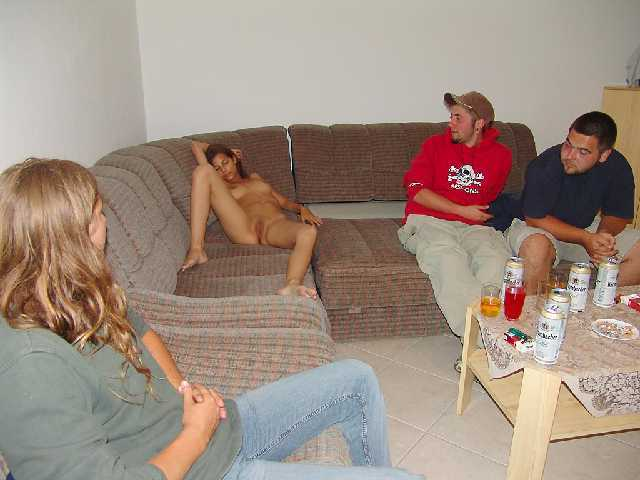 Passed out naked pussy 8