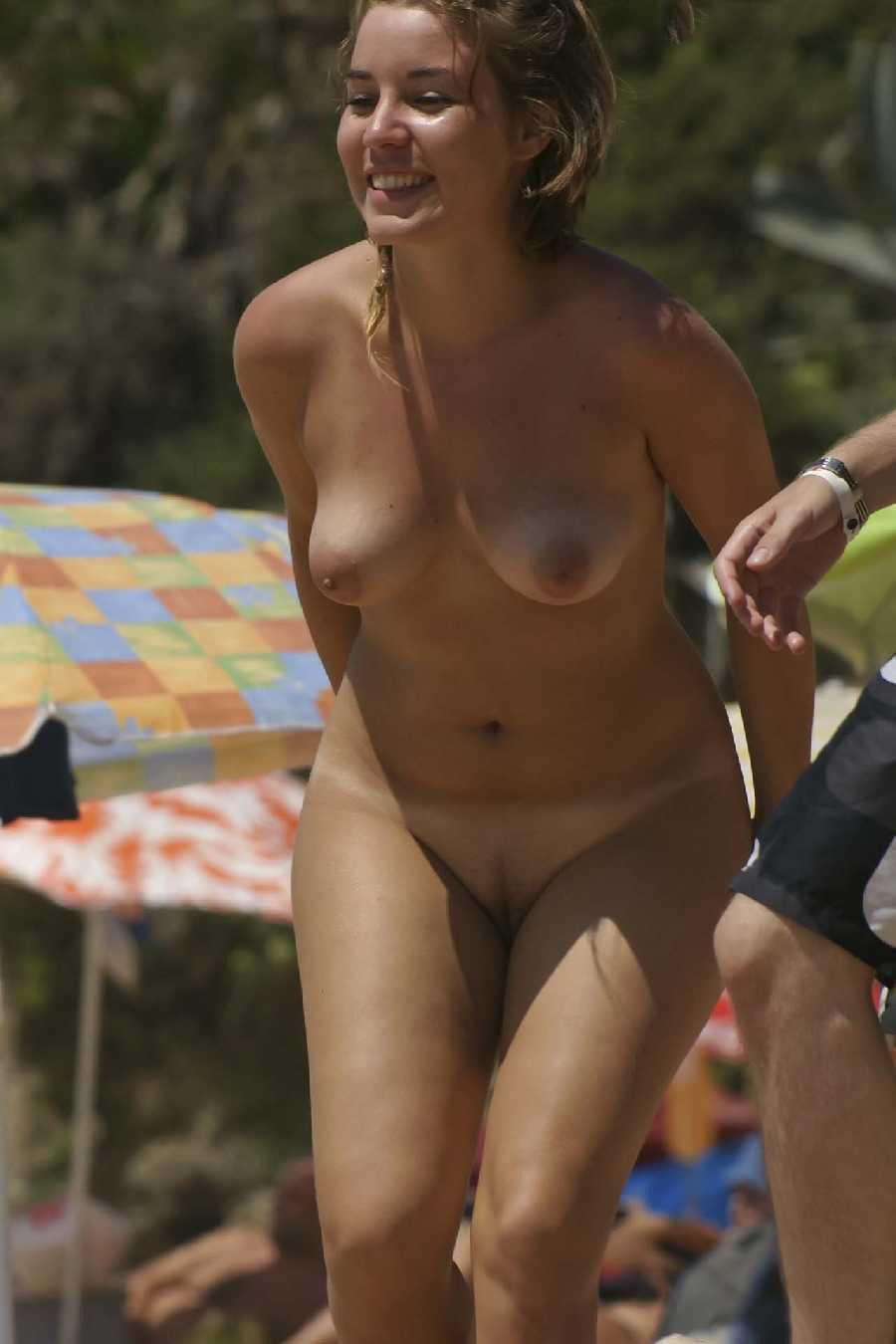Real naked girls outdoors