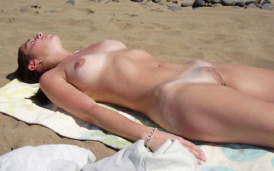 Having fun in the nude outdoors