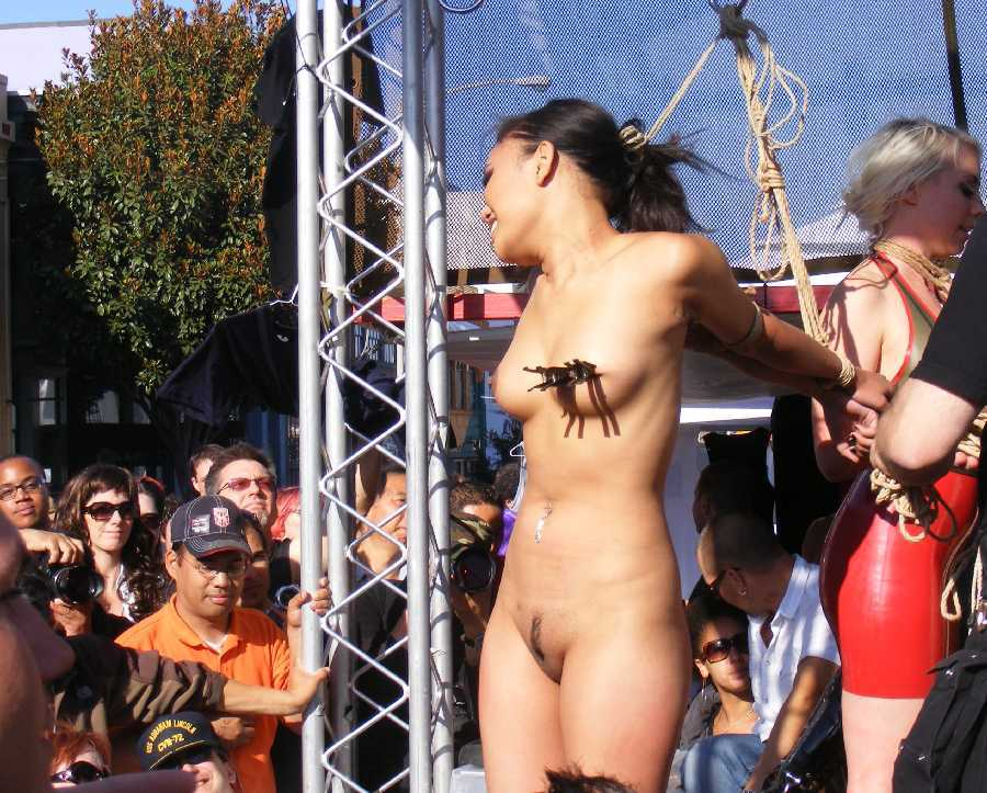 Valuable in crowd girl nude for