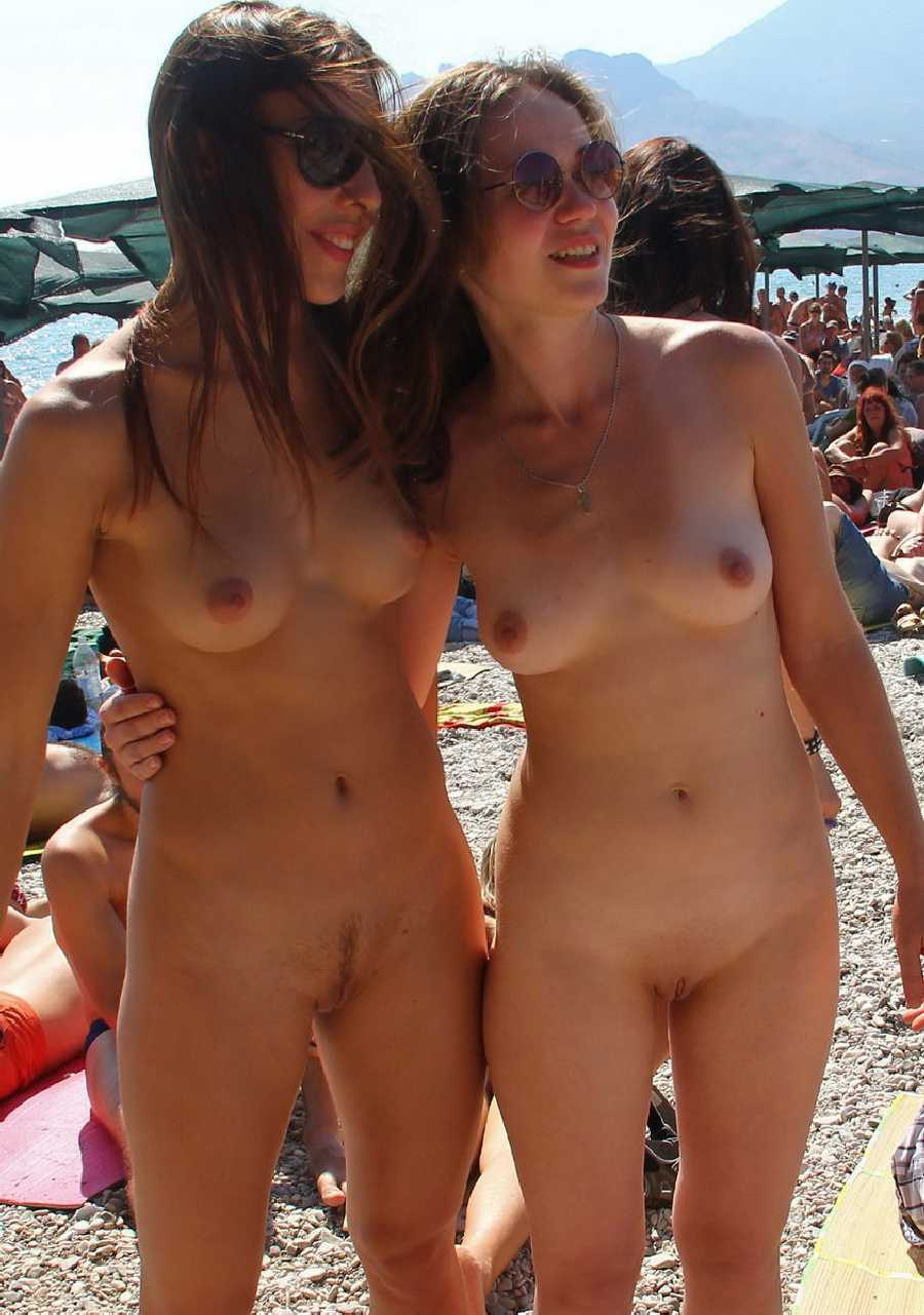 Public nude pics real girls naked