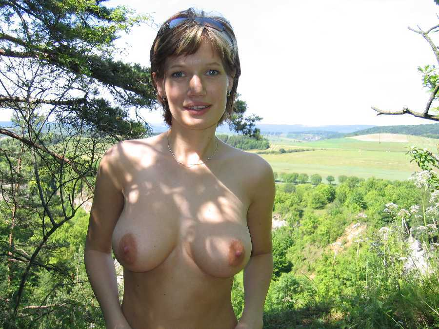 All natural boobs milf redhead