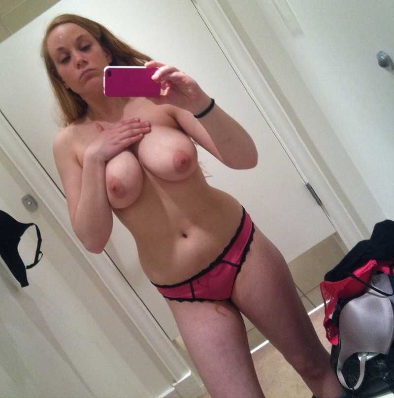 Changing room self nude girl 14