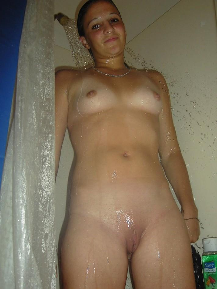 Cute Girl Naked Shower