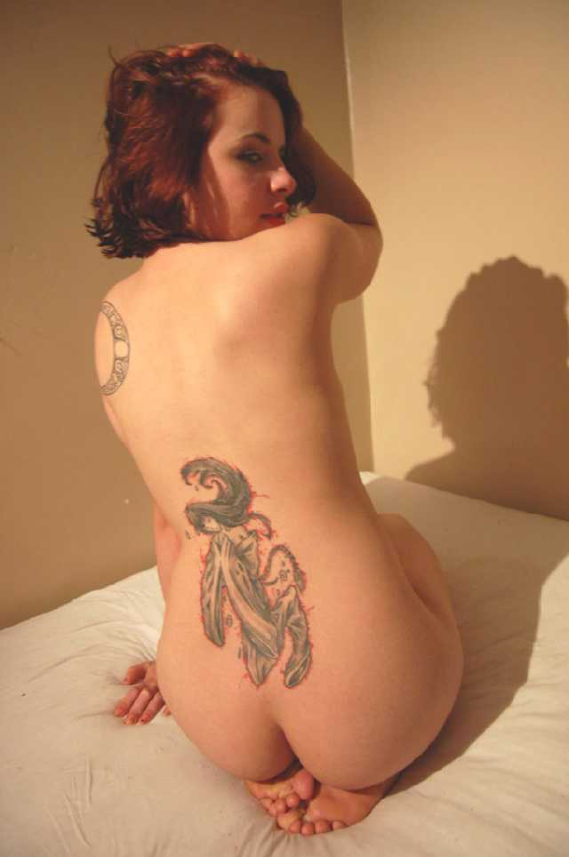 Sexy naked women with tattoos