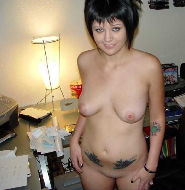 Naked girls lower back — 1