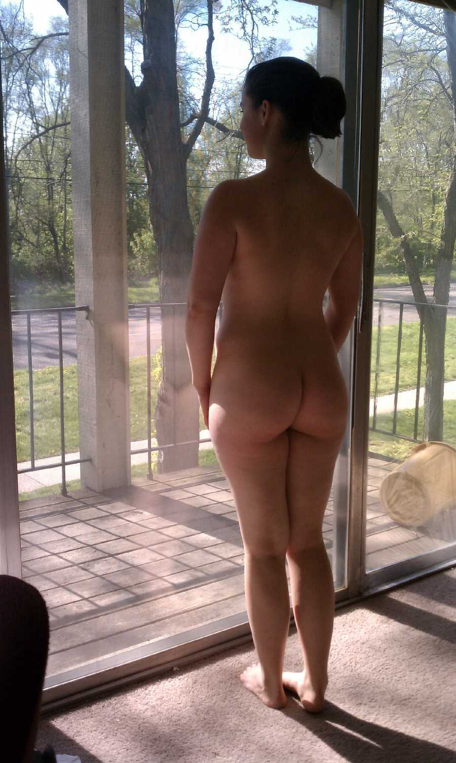 Wife nude in window, farm girl sex