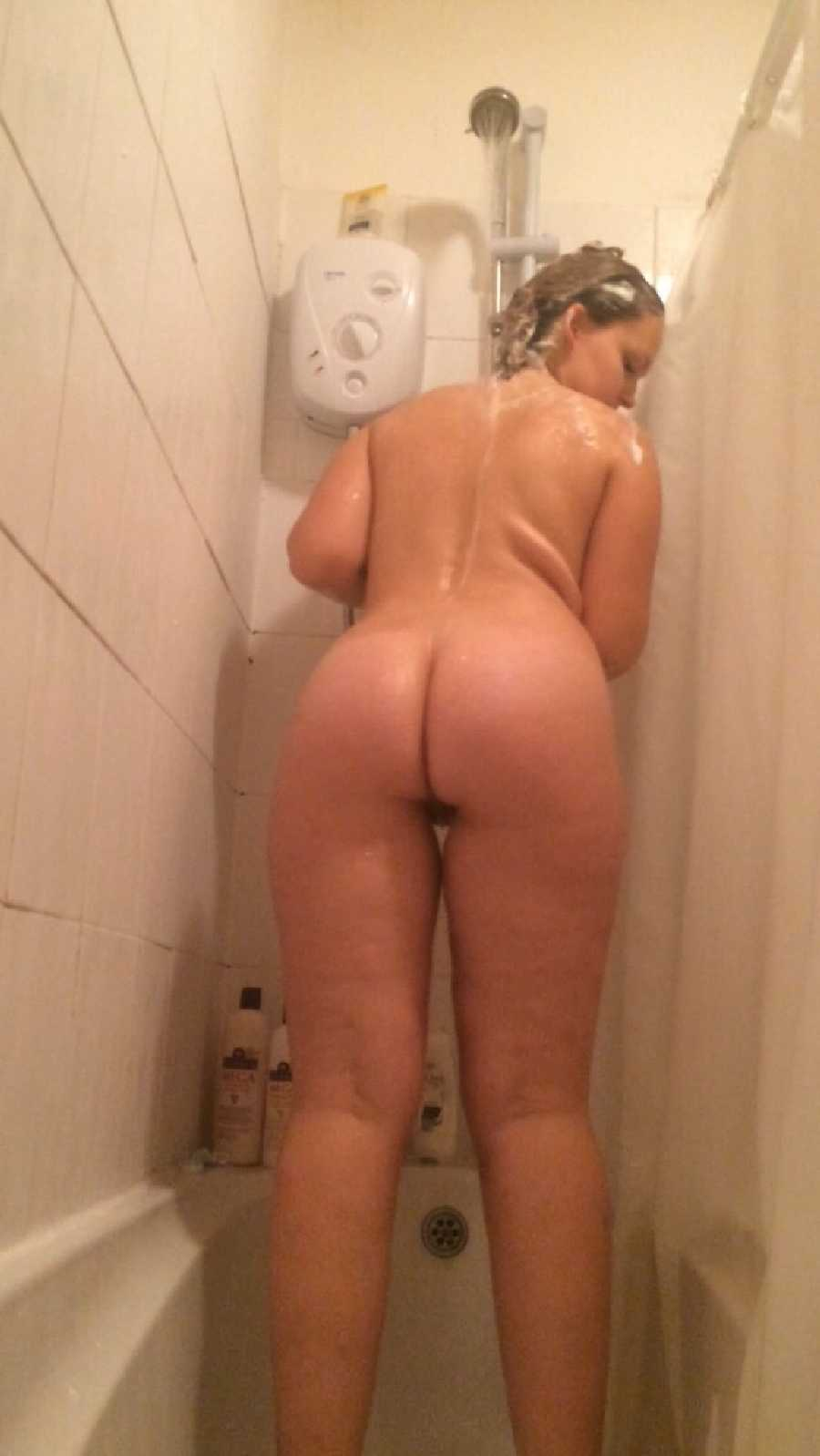 Nude in Shower
