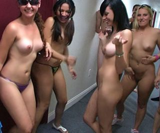 Nude college girls shower