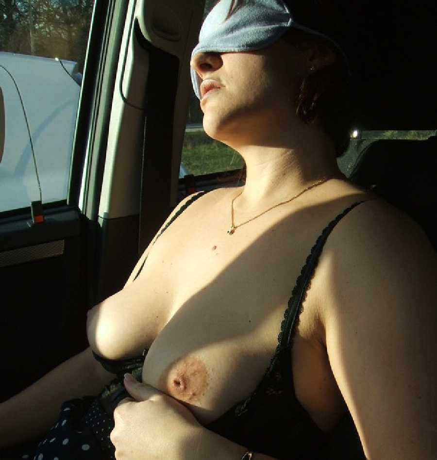 Blindfolded in the Car