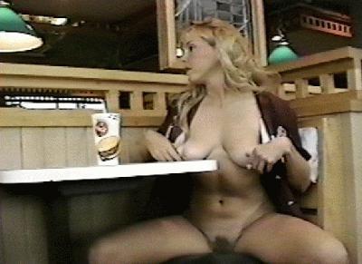 Naked in the Restaurant