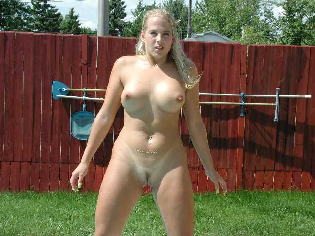 Neighbors wife gets naked