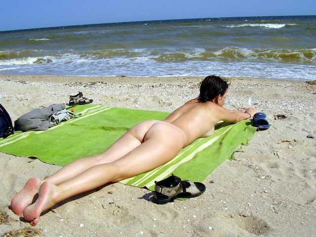 Nude Suntanning