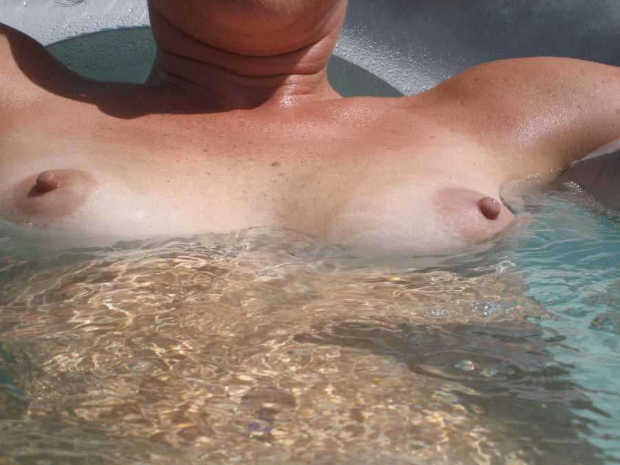 Sunbathing Topless