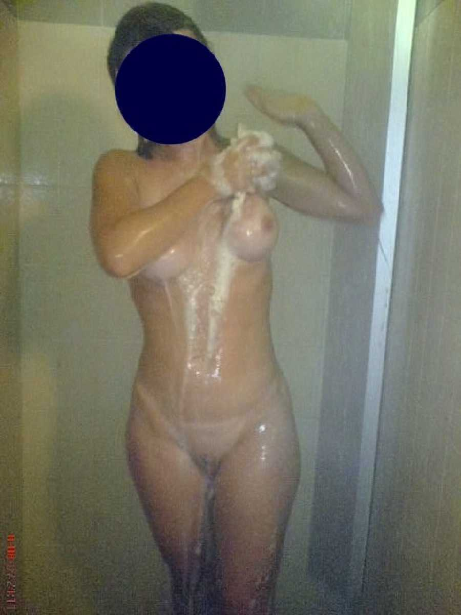 Wendy in the Shower